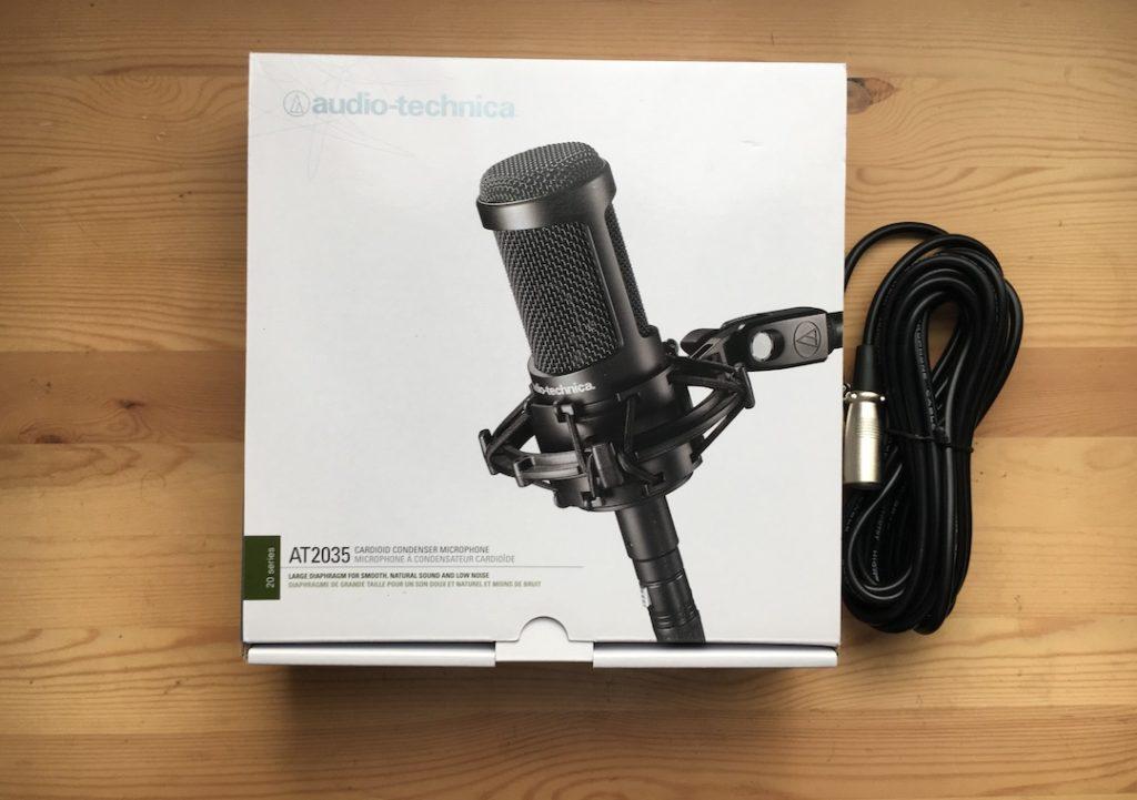 Audio Technica AT2035 レビュー