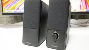 BOSEの音!デスクトップスピーカーCompanion2 Series IIIを購入した