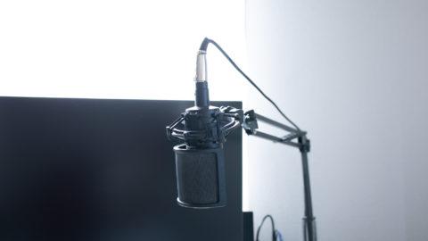 AT2035は音質をアップさせたい初心者にお勧めなコンデンサマイク