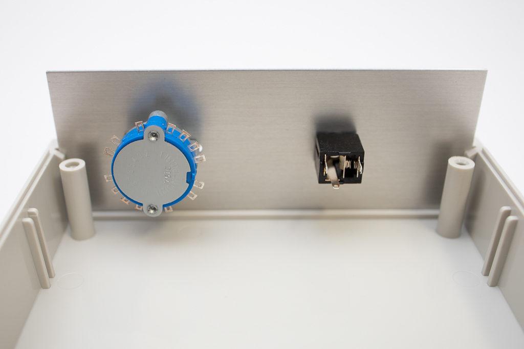 ケース加工 3.5mmジャック ロータリースイッチ