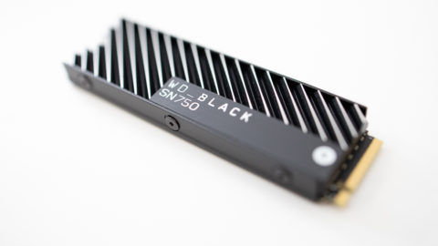 かっこいいNVMe SSD WD Black SN750を導入