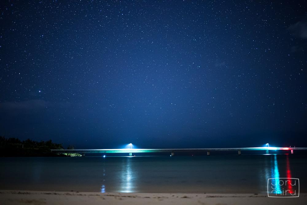 宮古サンセットビーチ 星