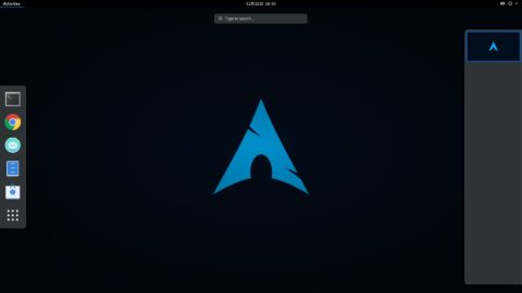 Arch Linuxを本格的に使おうと思う。