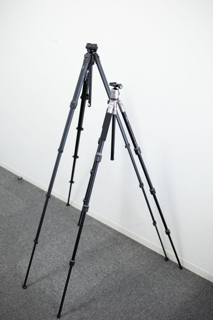 Peak Design Trabel Tripod 三脚 比較