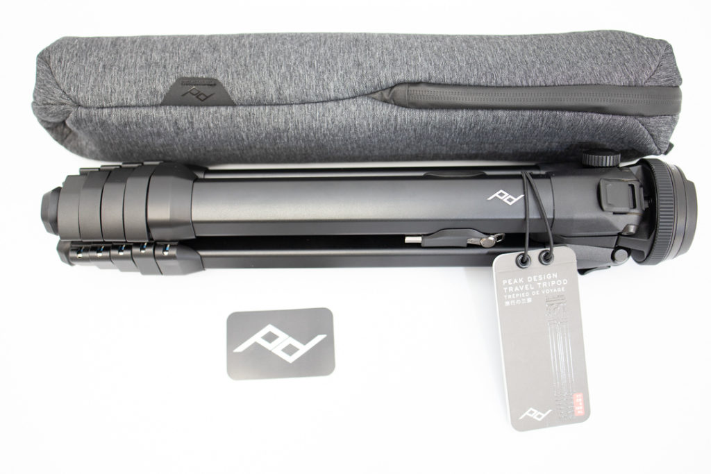 Peak Design Trabel Tripod 三脚 付属品