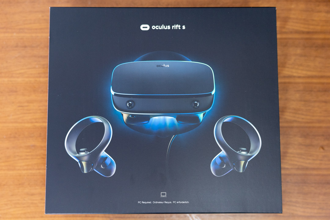 Oculus Rift S 外箱