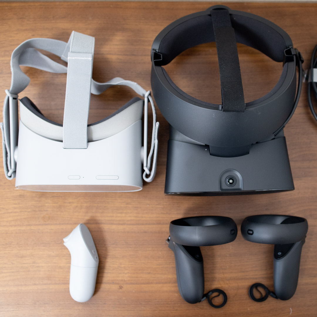 Oculus Rift S GO 比較