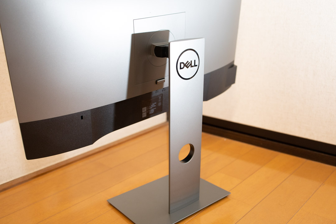 DELL U2414HE 背面