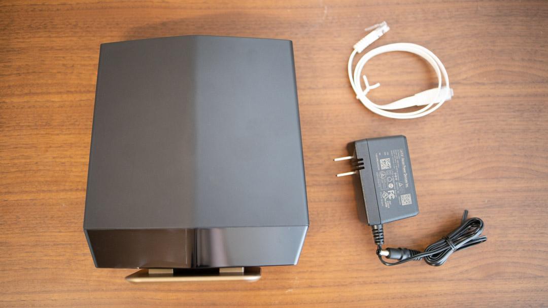 Buffalo wifi AX6 WSR-5400AX6 付属品
