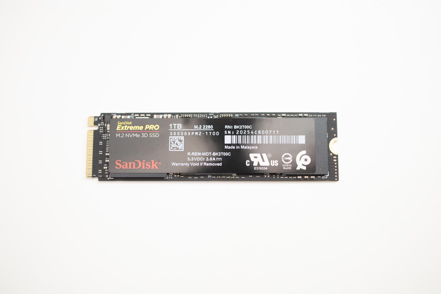 SSD thinkpad x13
