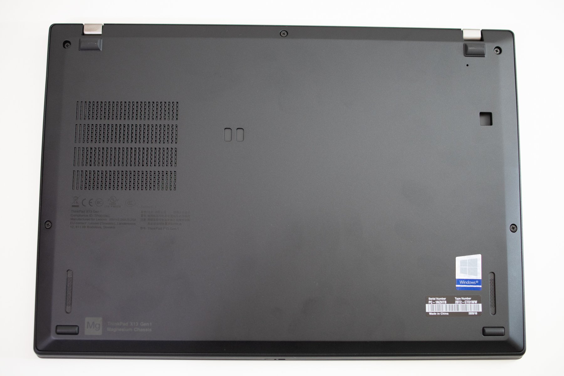ThinkPad x13 SSD 換装